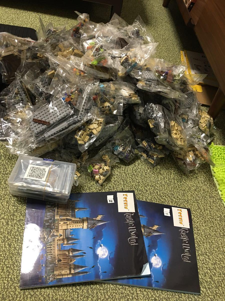 レゴ互換 ハリーポッター ホグワーツ城 LED付き!!最終値下げ!_画像6