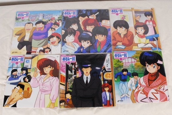 8174 めぞん一刻 TVシリーズ完全収録版 LD レーザーディスク Vol.1~24_画像5