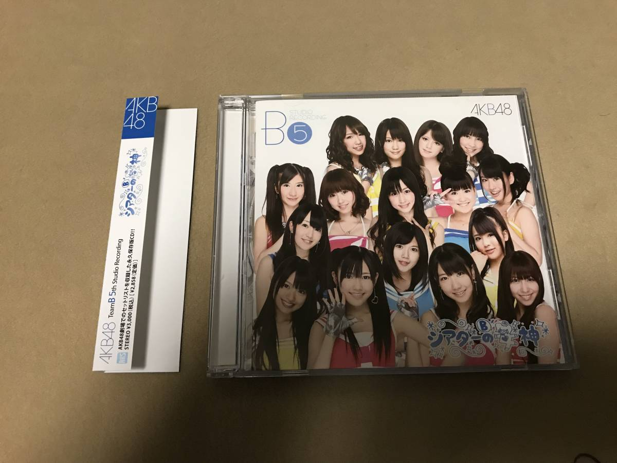 AKB48 CD チームB 5th Stage「シアターの女神」_画像1