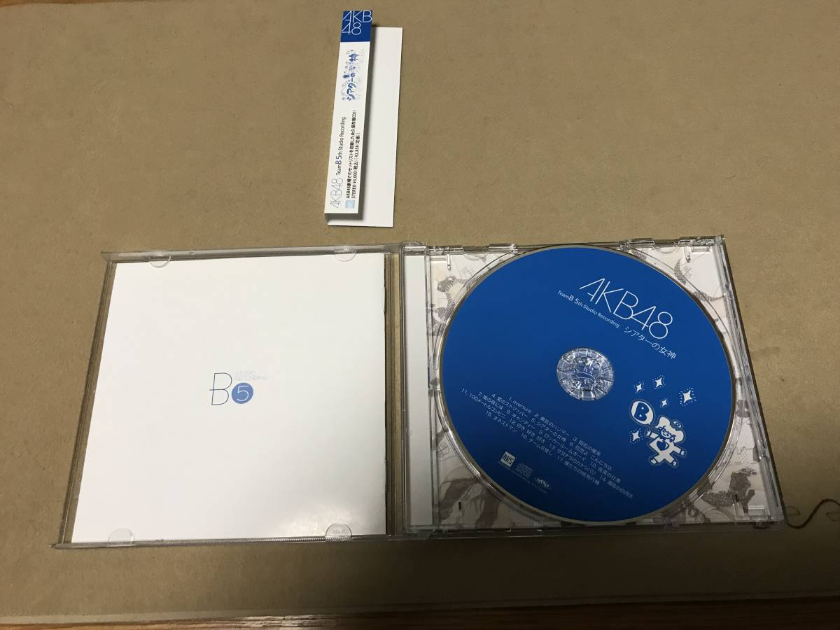 AKB48 CD チームB 5th Stage「シアターの女神」_画像2