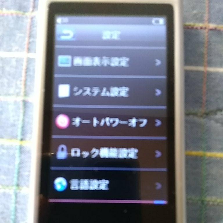 o190222-044 未使用品 多機能メディアプレーヤー MP4プレーヤー YTO-M5008CSL 静電式タッチパネル 8GB _画像3