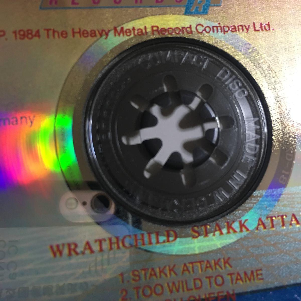 Wrathchild - Stakk Attakk ('88) オリジナル HMR XD 18 激レア_画像3
