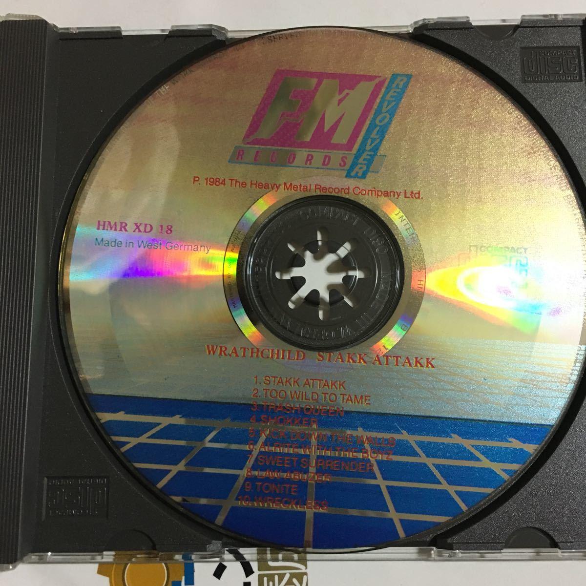 Wrathchild - Stakk Attakk ('88) オリジナル HMR XD 18 激レア_画像2