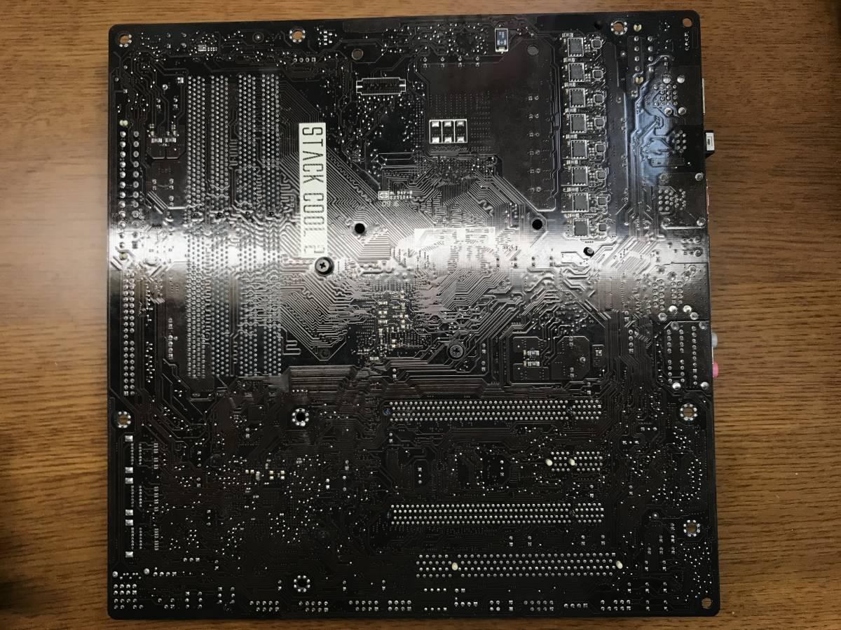動作確認済み ASUS MAXIMUS II GENE LGA775 マザーボード_画像3