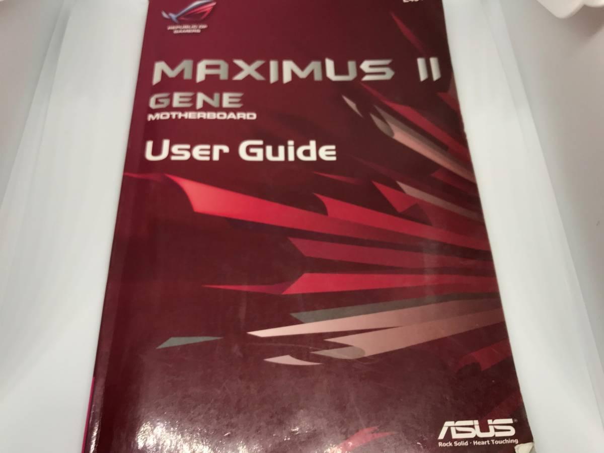 動作確認済み ASUS MAXIMUS II GENE LGA775 マザーボード_画像6