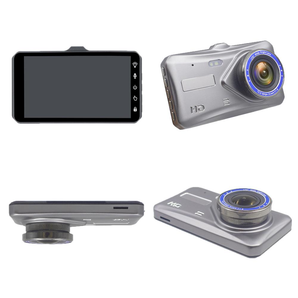 ドライブレコーダー 4.0インチ高画質 170広視野角 2カメラ搭載 常時録画 Gセンサー搭載 衝撃録画 前後カメラ_画像3
