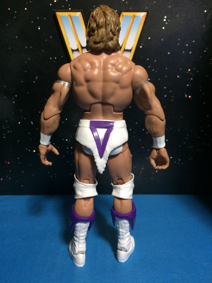 WCW WWE WWF プロレス フィギュア マテル エリート ナルシス レックスルガー 付属品揃ってます。関節良好 腰巻き、ニーパッドに塗装スレ_画像7