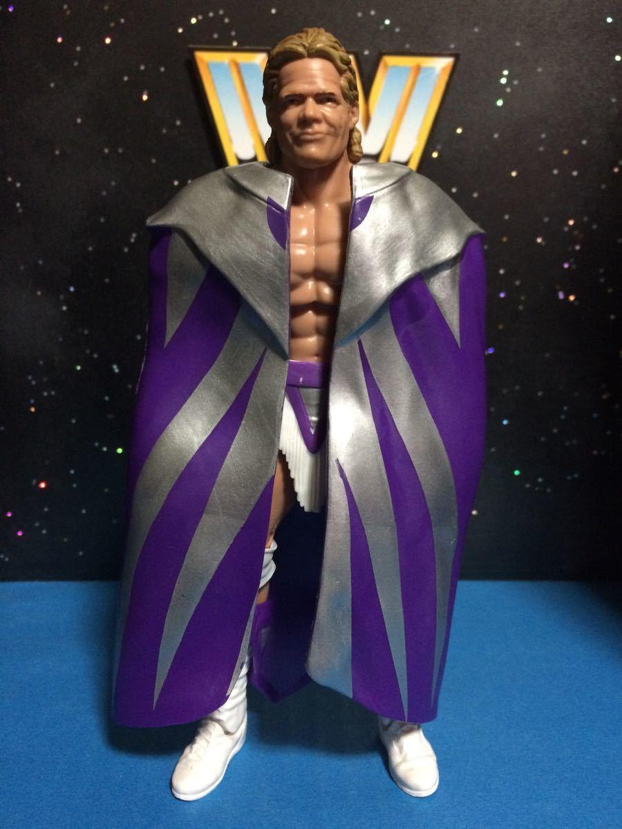 WCW WWE WWF プロレス フィギュア マテル エリート ナルシス レックスルガー 付属品揃ってます。関節良好 腰巻き、ニーパッドに塗装スレ