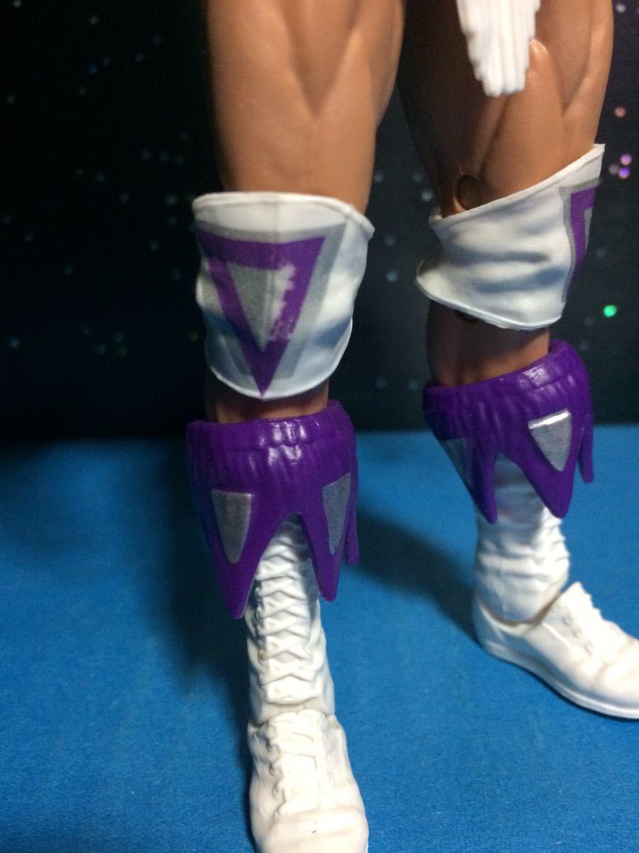 WCW WWE WWF プロレス フィギュア マテル エリート ナルシス レックスルガー 付属品揃ってます。関節良好 腰巻き、ニーパッドに塗装スレ_画像6