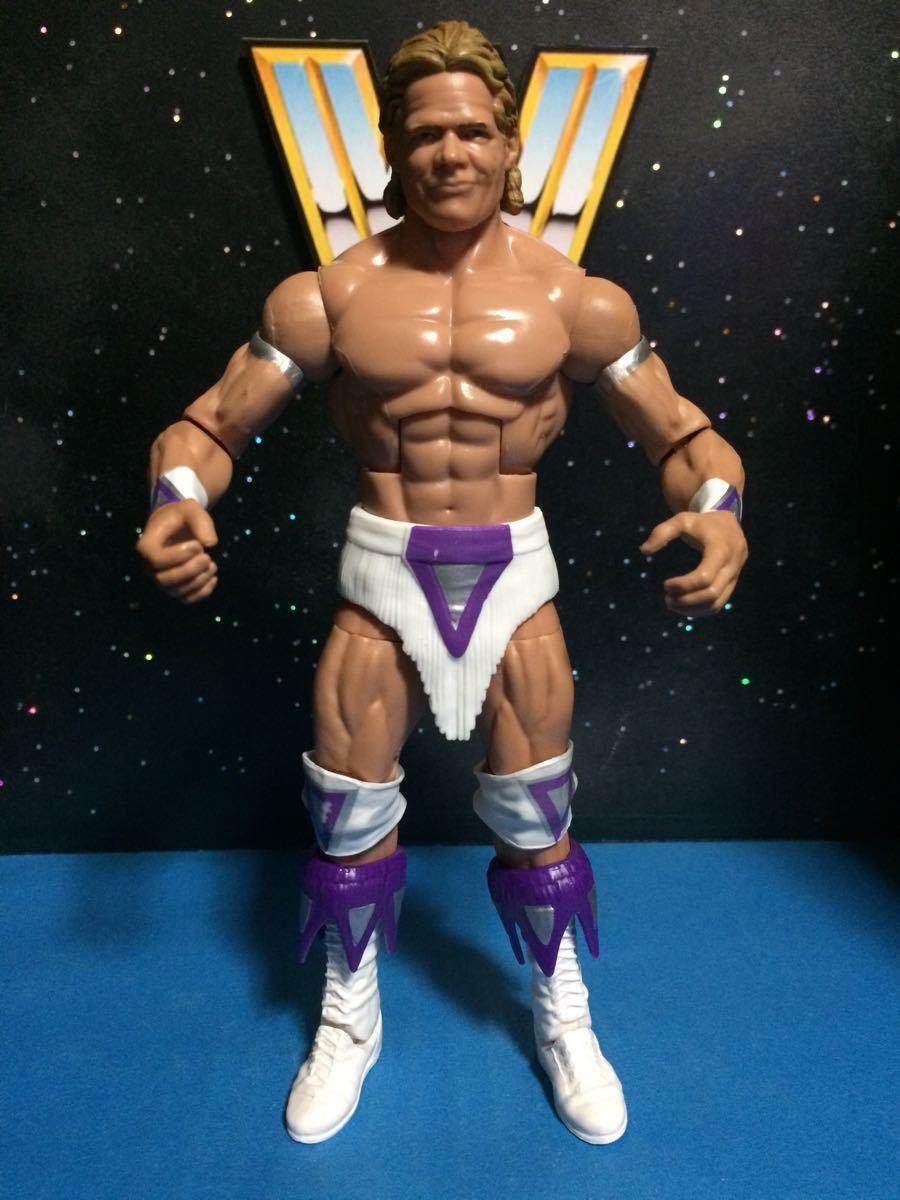 WCW WWE WWF プロレス フィギュア マテル エリート ナルシス レックスルガー 付属品揃ってます。関節良好 腰巻き、ニーパッドに塗装スレ_画像3