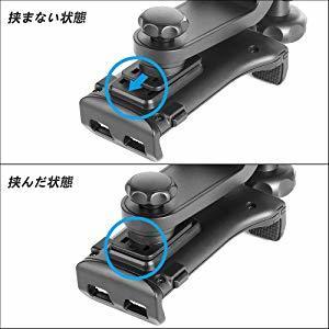 【新品 大人気】タブレットホルダー オーディオ 車載ホルダー 調節 360度回転式 車 タブレット スマホ 工具不要で取付可能 ポイント消化_画像8