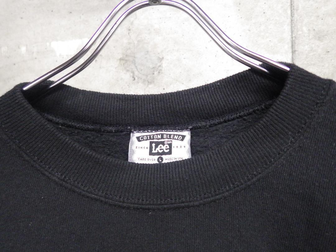90s  Lee  スウェット Lサイズ USA製  vintage ヴィンテージ ビンテージ アメカジ 古着 希少 キャラクター リー_画像2