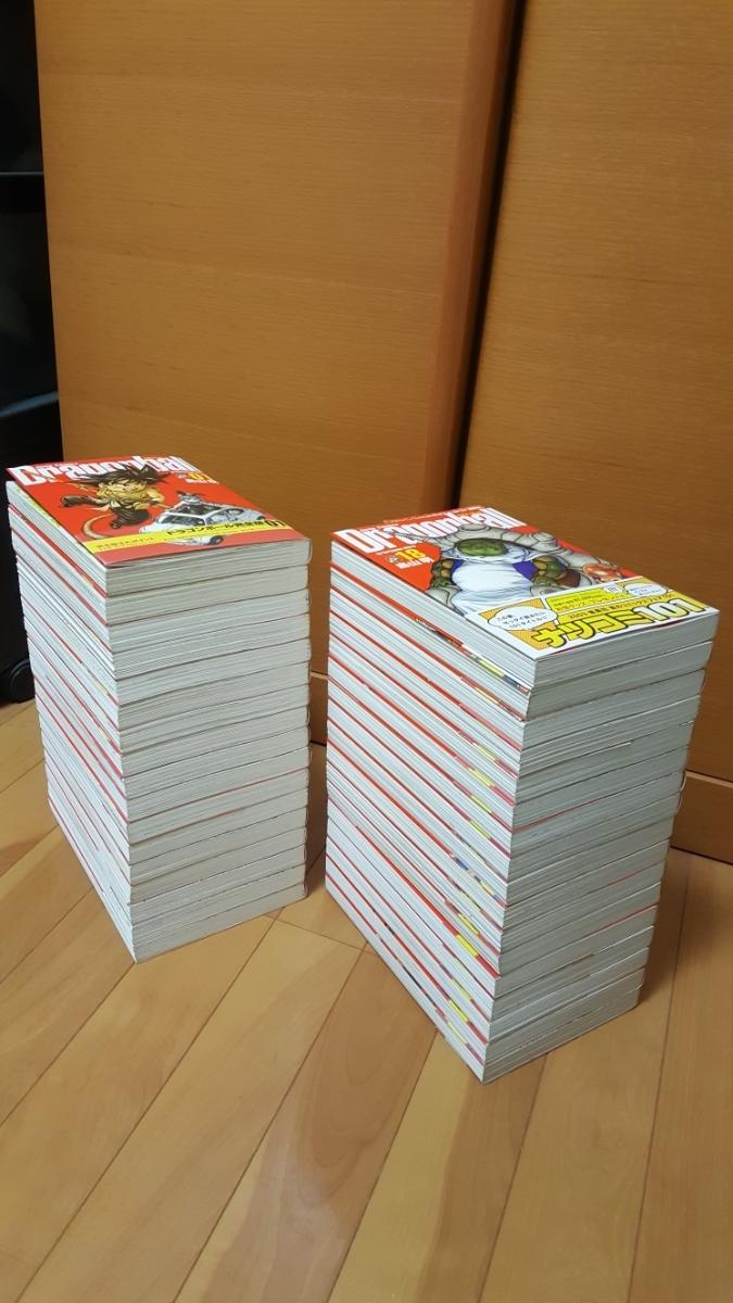 【希少良品】ドラゴンボール 完全版1~34全巻(全34巻)全初版 全初版帯龍珠通信全17号 全冊子 (フルコンプリート)+おまけ関連本1冊 全35冊_画像5