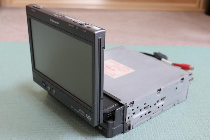 パナソニック CN-DV255 新品付属品_画像2