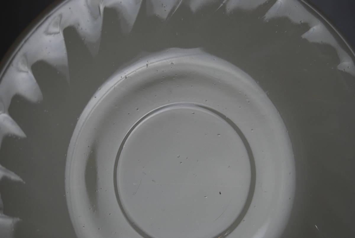 ファイヤーキング アイボリー スワール カップ・ソーサー 2客セット アンティーク食器_画像10