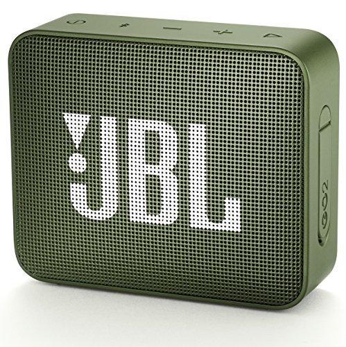 YH0542 JBL GO2 Bluetoothスピーカー IPX7防水/ポータブル/パッシブラジエーター搭載 グリーン JBLG
