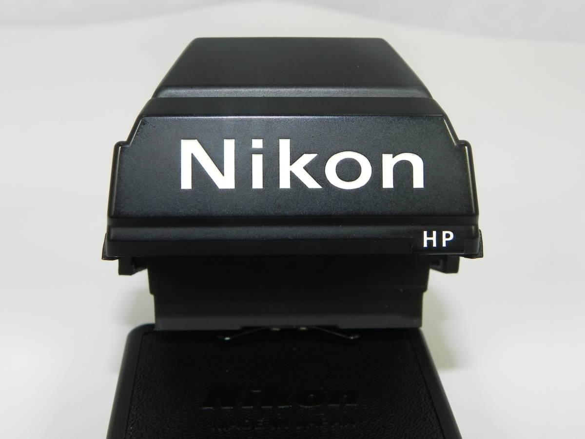 Nikon ニコン 往年の名機 一眼レフカメラ ニコン F3 DE-2 専用アイレベルファインダー ・希少 超美品!_画像7