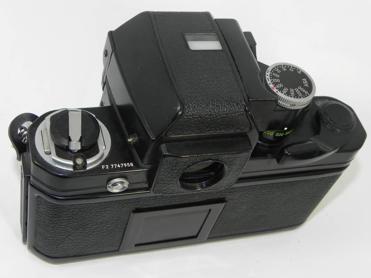 nikon ニコン F2 7747958 + レンズ NIKKOR 50mmF1.4 4251897  希少・美品!_画像8