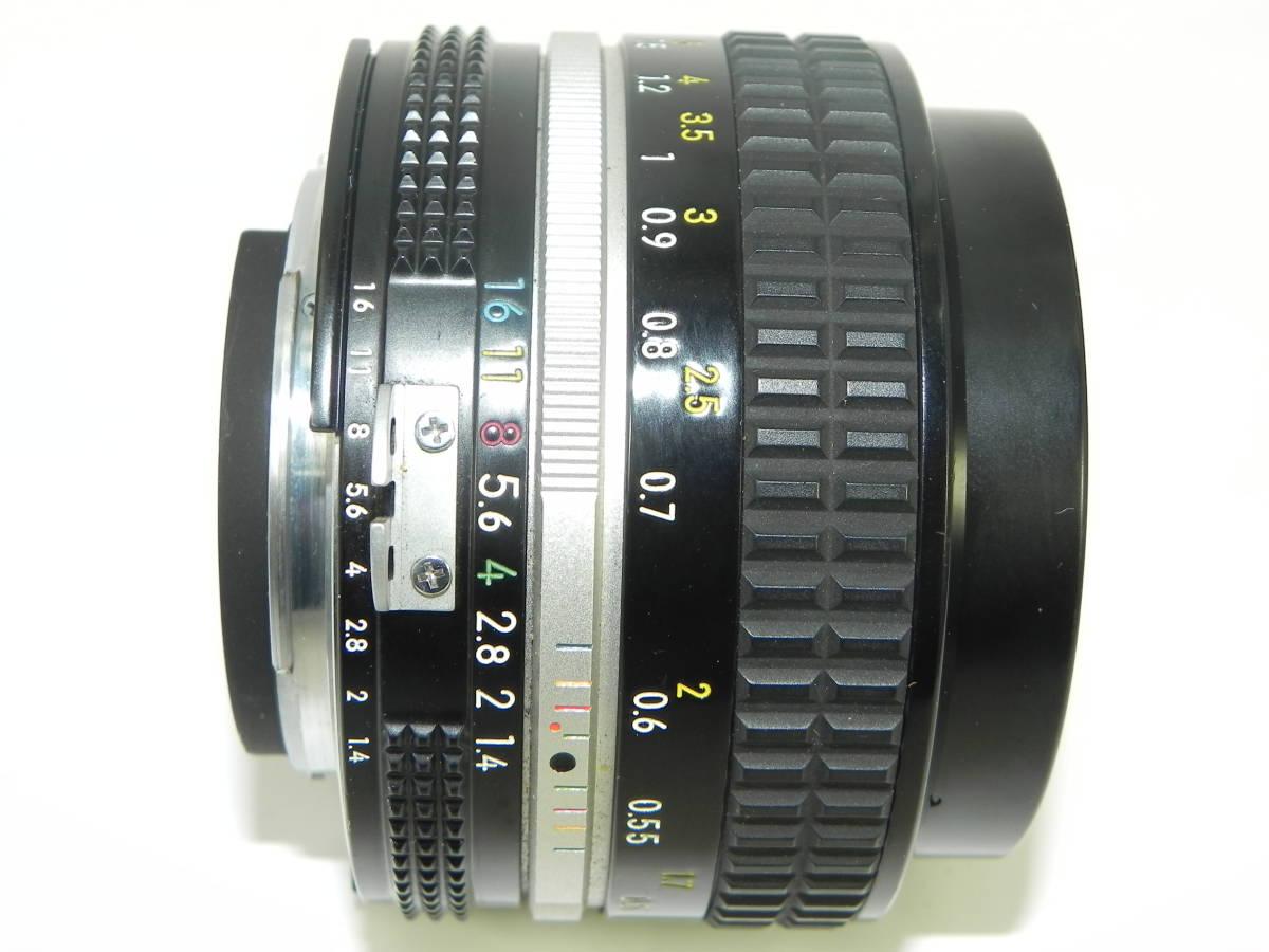 nikon ニコン F2 7747958 + レンズ NIKKOR 50mmF1.4 4251897  希少・美品!_画像7