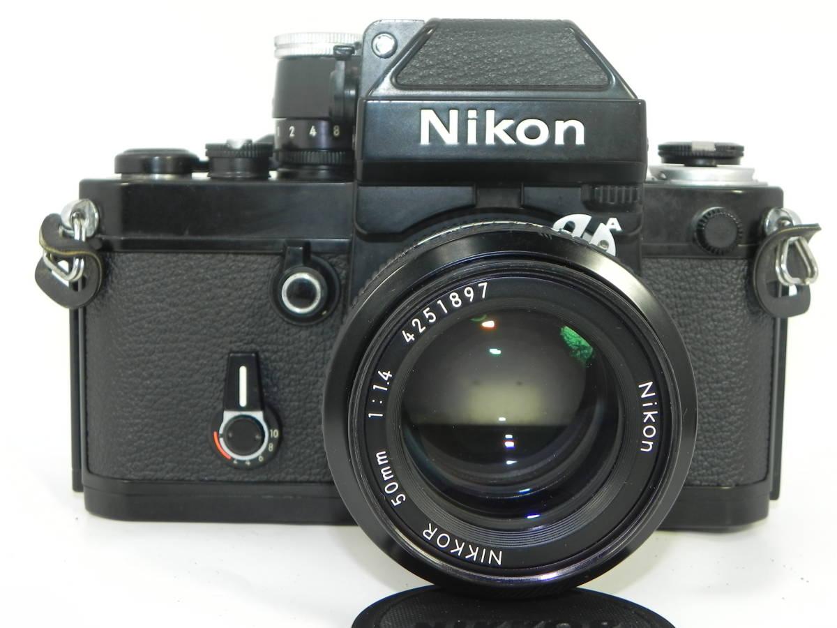 nikon ニコン F2 7747958 + レンズ NIKKOR 50mmF1.4 4251897  希少・美品!_画像2