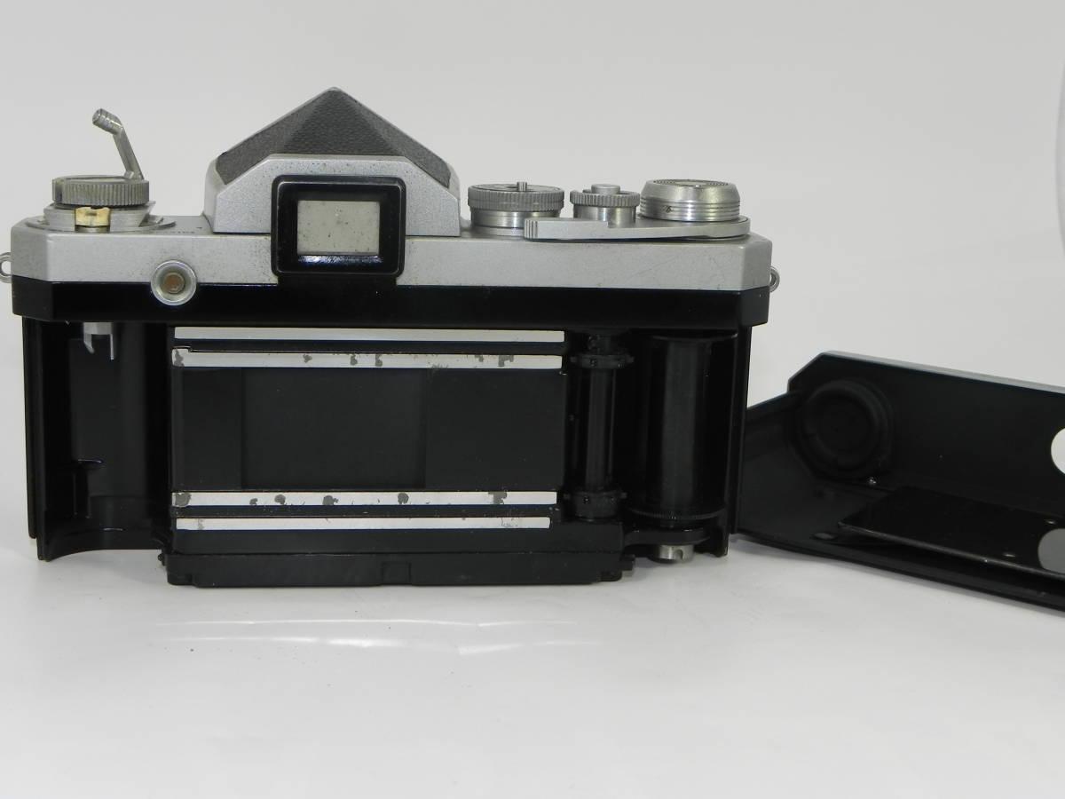 NIKON ニコン F アイレベル 6523104番台 希少 ・ レンズ NIKKORーs 50mmF1.4  850020 往年の名機 希少・美品!_画像9