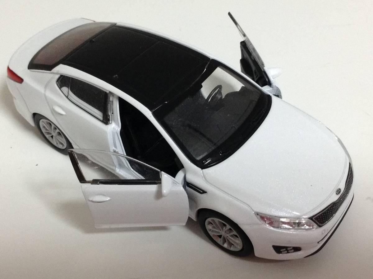 起亜 KIA 3代目 K5 後期型 2013年式~ 1/38 約12cm PINO B&D ドア開閉 韓国自動車 ミニカー 送料¥300_画像3