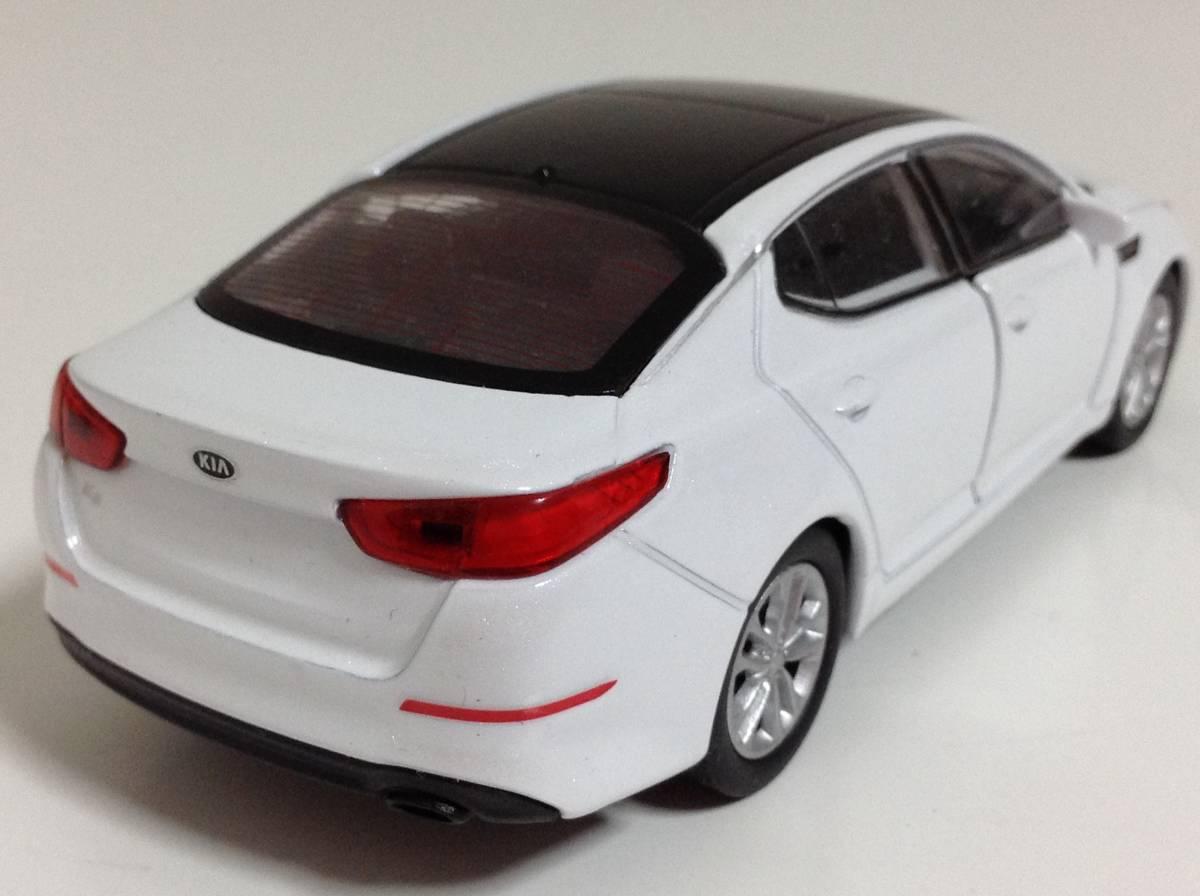 起亜 KIA 3代目 K5 後期型 2013年式~ 1/38 約12cm PINO B&D ドア開閉 韓国自動車 ミニカー 送料¥300_中古品ですスレキズがあります。