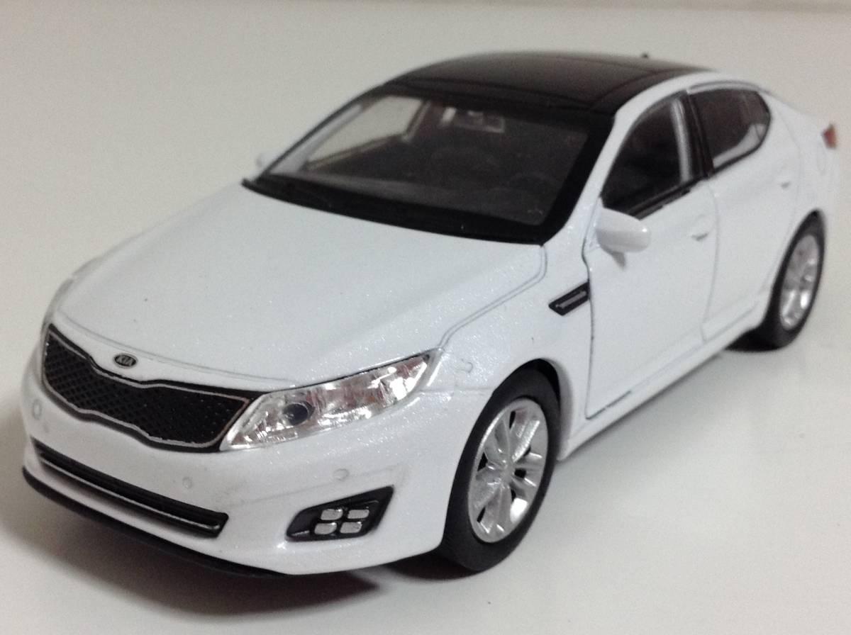 起亜 KIA 3代目 K5 後期型 2013年式~ 1/38 約12cm PINO B&D ドア開閉 韓国自動車 ミニカー 送料¥300_3代目 K5 後期型 2013年式~ 1/38 約12cm