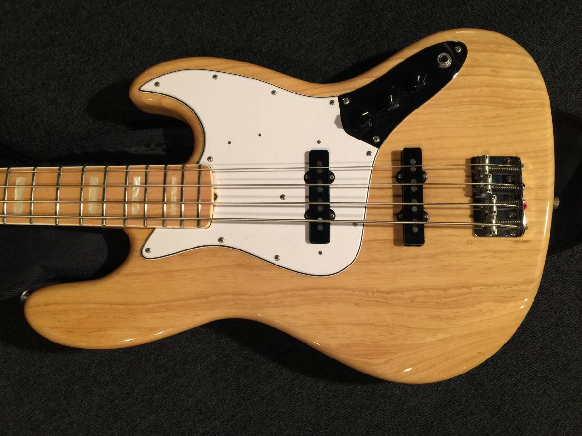 Fender Japan JB75-90US NAT/M No.082015 MADE IN JAPAN 軽いアッシュ!!_画像2