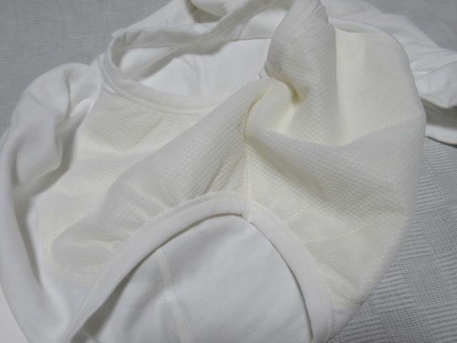 ♪ 送料込み ショーツ 4枚 デオメタ1 フリーサイズ パンツ 介護 失禁? 日本製 白 ポイント消化_画像4