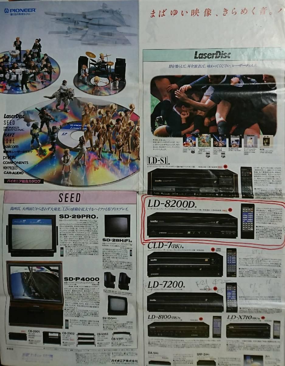 パイオニア pioneer 総合 カタログ 1986 / 11 昭和レトロ_画像8