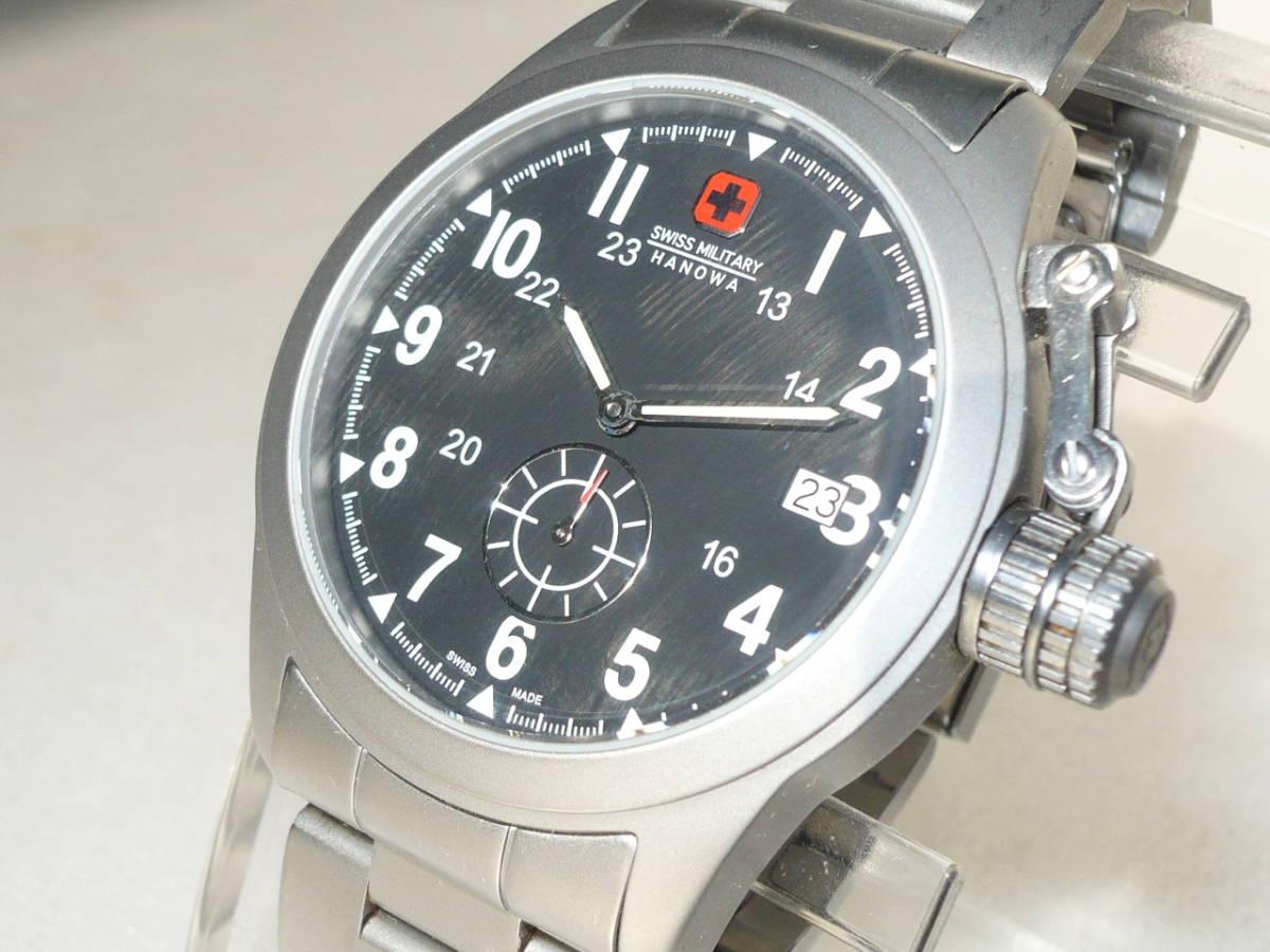 ★SWISS MILITARY HANOWA ML-370 CLASSIC腕時計★_画像2