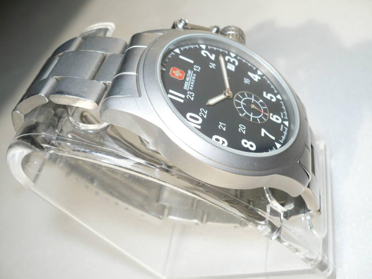 ★SWISS MILITARY HANOWA ML-370 CLASSIC腕時計★_画像3