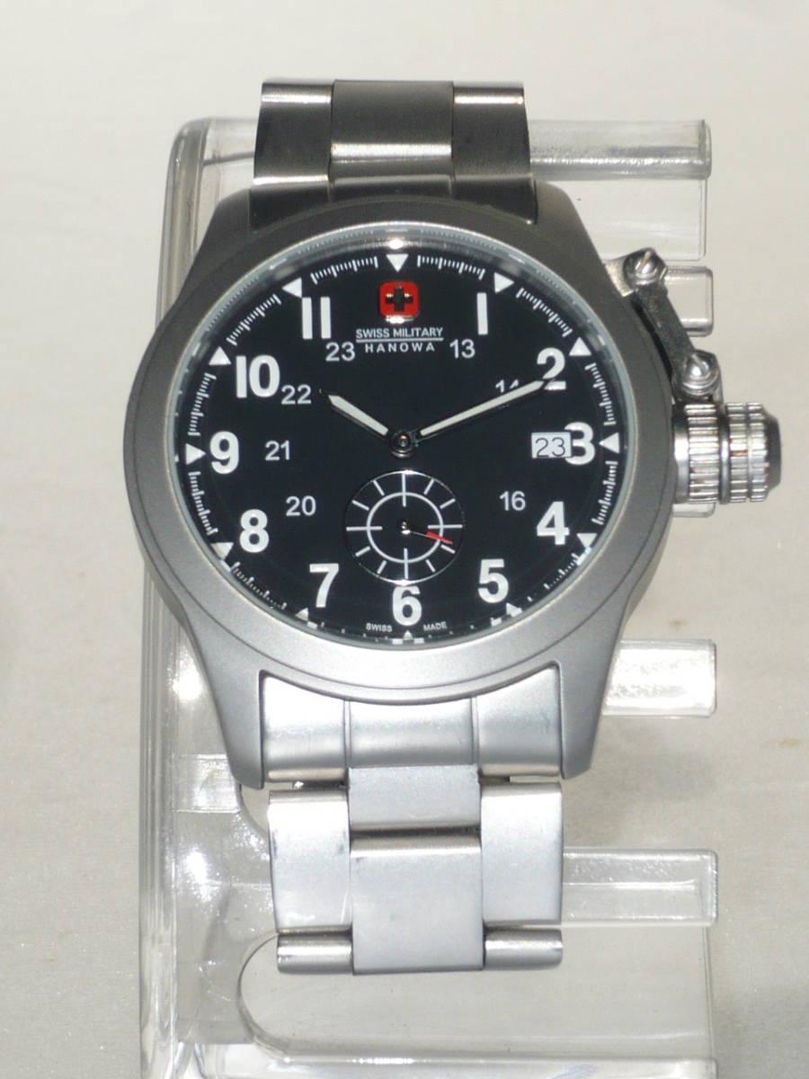 ★SWISS MILITARY HANOWA ML-370 CLASSIC腕時計★_画像1