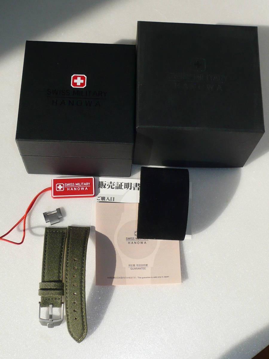 ★SWISS MILITARY HANOWA ML-370 CLASSIC腕時計★_画像6