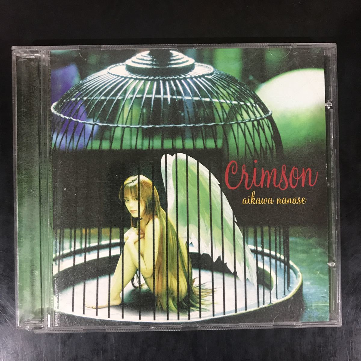 B16 中古CD100円 相川七瀬 crimson_画像1
