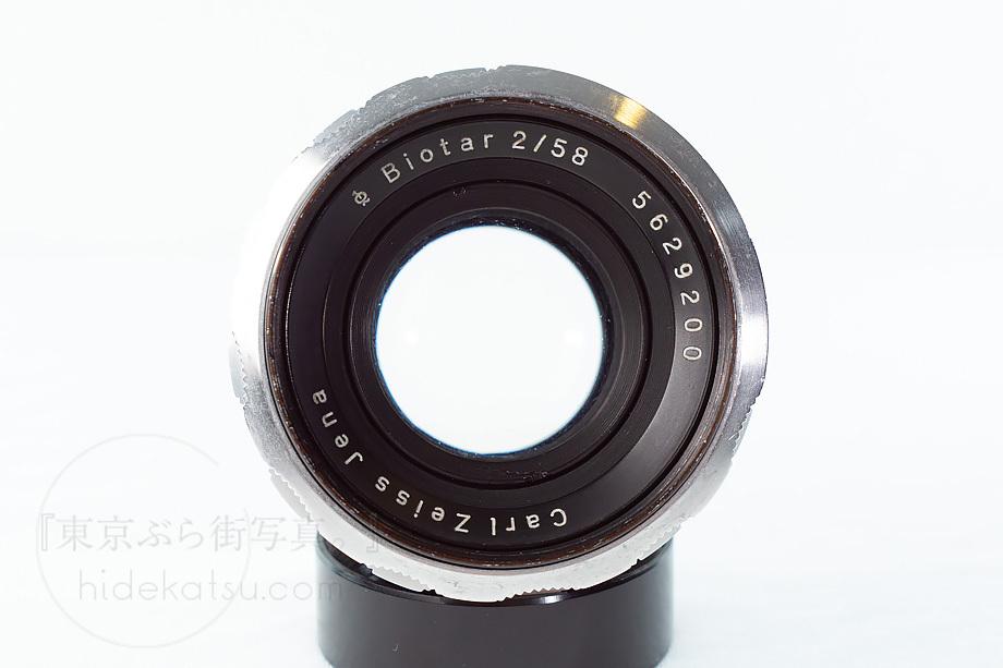 ヘリオスの親玉ビオター【分解清掃済み・撮影チェック済み】Carl zeiss / Biotar 58mm F2.0 M42 04b_画像3