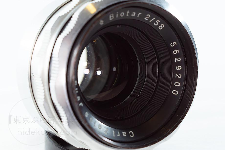 ヘリオスの親玉ビオター【分解清掃済み・撮影チェック済み】Carl zeiss / Biotar 58mm F2.0 M42 04b_画像5