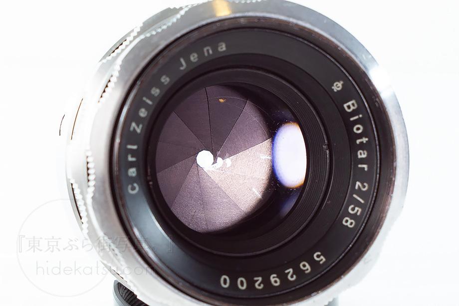 ヘリオスの親玉ビオター【分解清掃済み・撮影チェック済み】Carl zeiss / Biotar 58mm F2.0 M42 04b_画像7