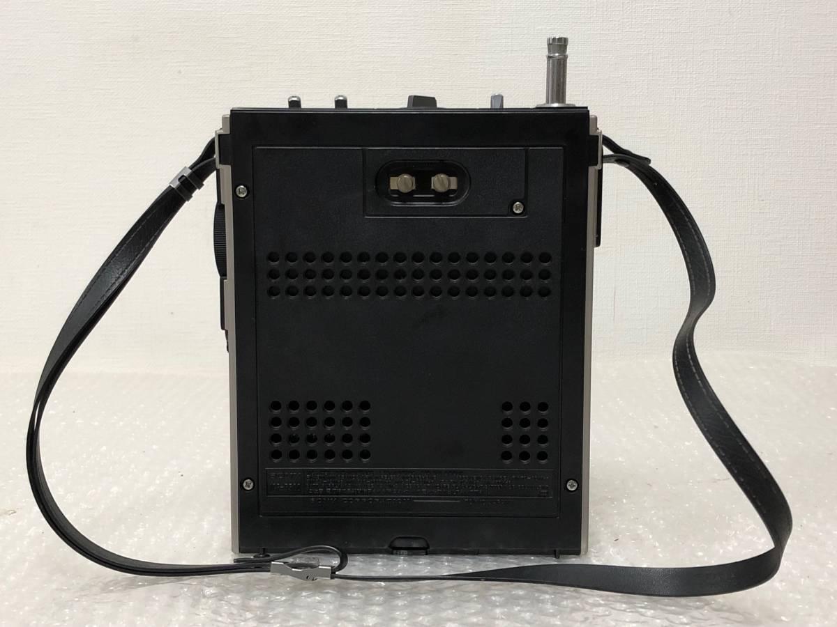 A0410【SONY】3バンドラジオ スカイセンサー ICF-5500 ACアダプター付_画像3