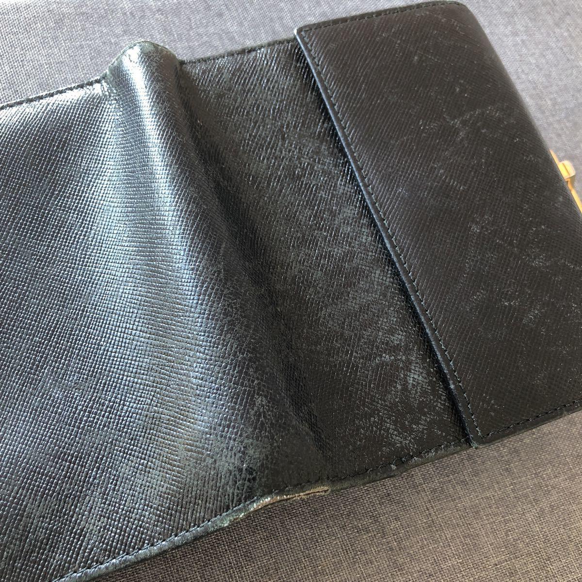フェラガモ ブラック 財布_画像9