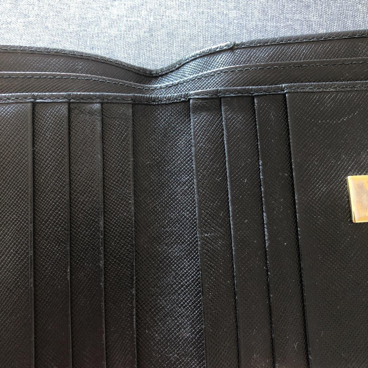 フェラガモ ブラック 財布_画像6