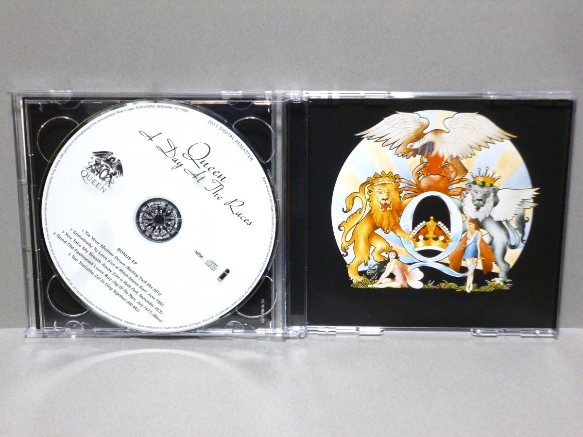 2shm CD クイーン 華麗なるレース(リミテッド・エディション)  QUEEN 手をとりあって ボヘミアンラプソディ_画像3