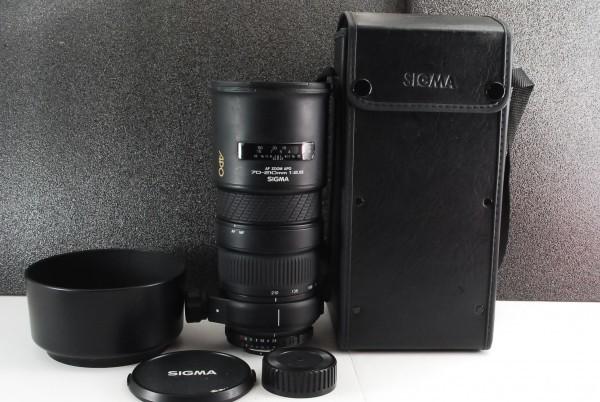 d19s 動作良好 SIGMA AF ZOOM 70-210mm F2.8 APO 距離計付き シグマ Nikon用 ニコン 現状お渡し 送料無料 動作確認済み