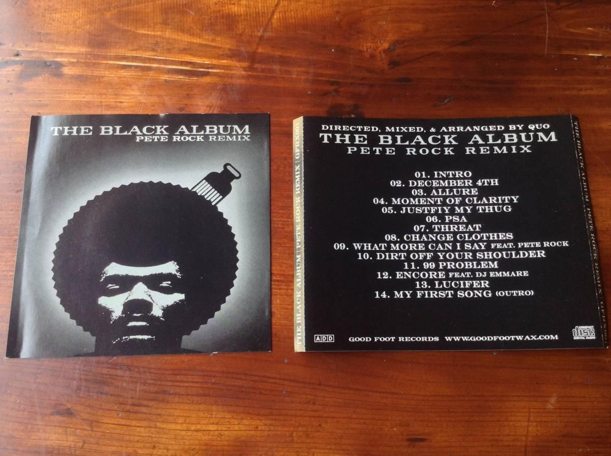Jay-Z / Pete Rock - The Black Album ( Pete Rock Remix ) / USオリジナル盤 Good Foot Records GFX-002 / 新品 未使用 送料無料 激レア_画像1