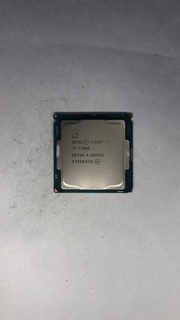 CPU Intel i7-7700K SR33A 4.20Ghz LGA1151ジャンク