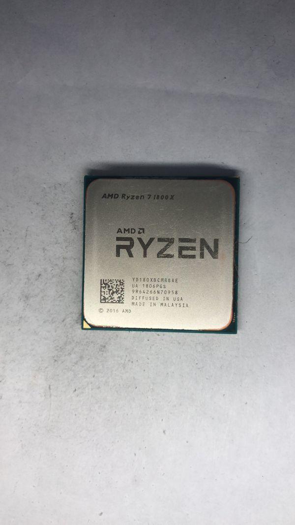 CPU AMD Ryzen71800X 3.60GhzAM4  ジャンク