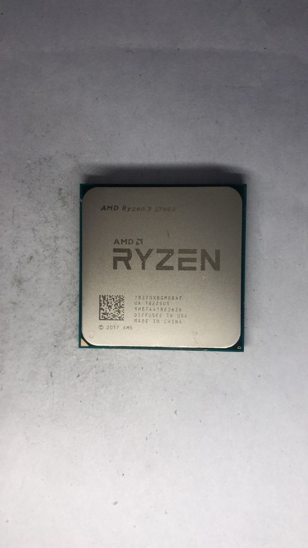 CPU AMD Ryzen7 2700X 3.70Ghz AM4 ジャンク45