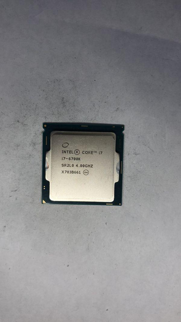 CPU Intel i7-6700K SR2L0 4.0Ghz LGA1151ジャンク