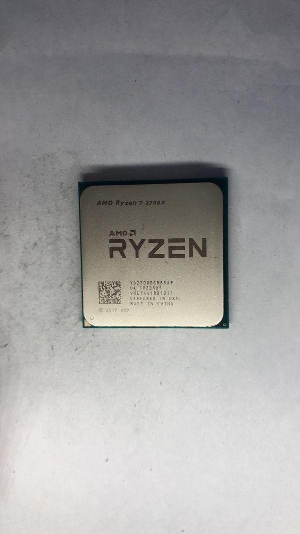 CPU AMD Ryzen7 2700X 3.70Ghz AM4 ジャンク